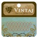 Vintaj Natural Brass Co. Jewelry Findings - Jump Rings 7.25mm (16 pieces)